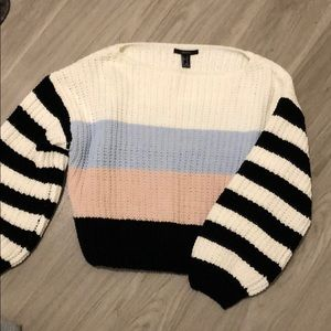 Forever 21 knit striped sweater
